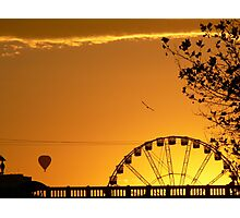 Melbourne sunrise Photographic Print