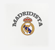Madridista ~ Pillow & Tote Bag by voGue