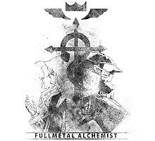 Fullmetal Brothers v2 Photographic Print