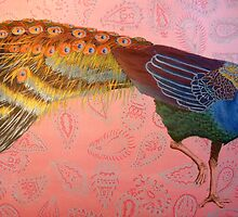 peacock & paisley by eleanor-may