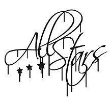 Allstars Team Graffiti Logo by Style-O-Mat