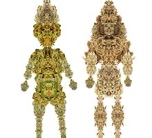 Keepers of The Sacred Plant - KOTSP King and Queen Kush by irishfisherman2