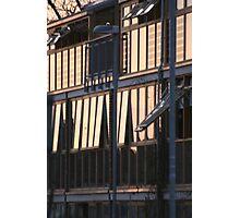 Bedzed Windows at sunset Photographic Print