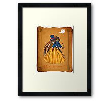 Wanted Beauty and the Beast Framed Print