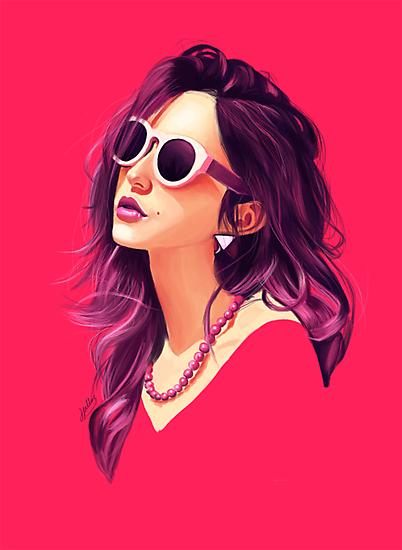 Pink Summer by jordanwindows