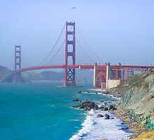 Golden Gate Bridge by dc42291
