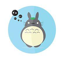 Totoro by TirzahDesigns