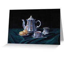 Lemons and Tea Greeting Card