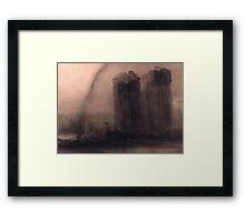 Vision of Notre-Dame Framed Print