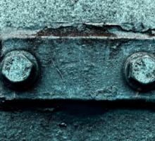 Meep - Metal Frog Sticker