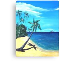 Ocean View - part one Canvas Print