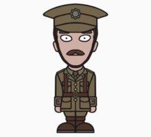 Major Stewart from War Horse (sticker) by redscharlach