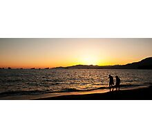 Sunset Vancouver  Photographic Print