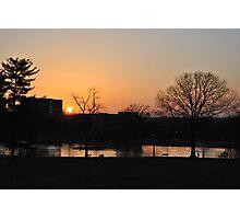 Capaha Park Sunset Photographic Print