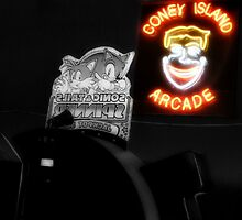 Coney Island Arcade by smilku