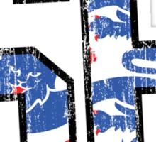 Three Lions '66 Sticker