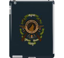 Sgt James Bucky Barnes (green) iPad Case/Skin