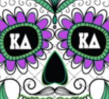 kappa delta skull  Sticker