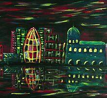 Midnight City by Anastasiya Malakhova