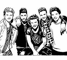 One Direction  by chastanimayhiga