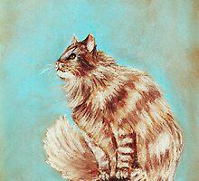 Watch Cat by Anastasiya Malakhova