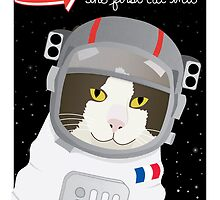 1963: France Blasted the First Cat into Outer Space by missmewow