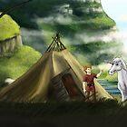 Volund and Hervor by vikingsbooksetc