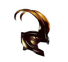Helmet of Loki Photographic Print