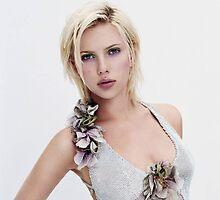 Scarlett Johansson Portrait by bab8ter