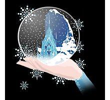 Elsa's Snow Globe Photographic Print