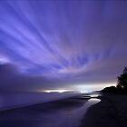 Coastline at Night. by eXparte-se