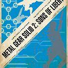 MGS2 Poster by NerdUnemployed