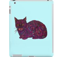 color cat  iPad Case/Skin