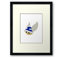 Blue Hell Framed Print