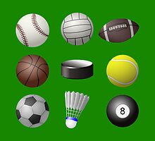 sport balls by CamposDO