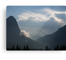Canmore Country Canvas Print