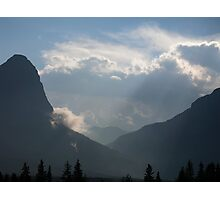Canmore Country Photographic Print