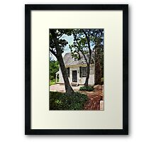 Two Tree Cottage Framed Print
