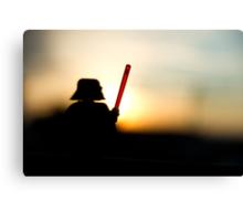 Vader at sunset Canvas Print