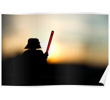 Vader at sunset Poster
