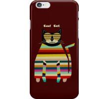 the cool cat  iPhone Case/Skin
