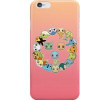 Pokécircle iPhone Case/Skin