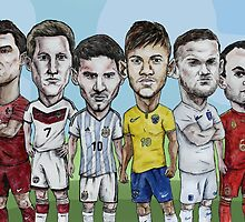 World Footballers by Ben Farr