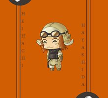 Chibi Heihachi by artwaste