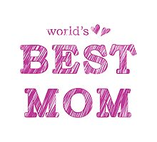 World's Best Mom Text Design Nr. 02 by silvianeto