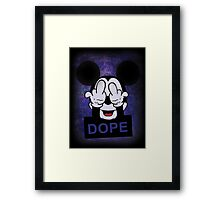 Mickey Hands dope Framed Print