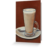 Cappuccino Greeting Card