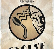 Bioshock Plasmid Telekinesis - Evolve Today by dylanwest2010