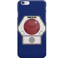 Lazer Tag Chest Sensor iPhone Case/Skin
