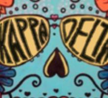 kapa delta skull 2 Sticker